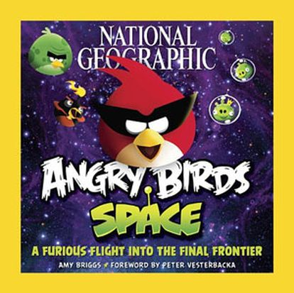 Libro de 'National Geographic' dedicado a 'Angry Birds'.