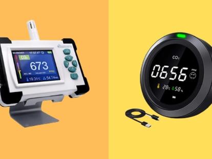 Estos aparatos detectan cuándo los niveles de CO2 sobrepasan los tolerados para una buena salud.