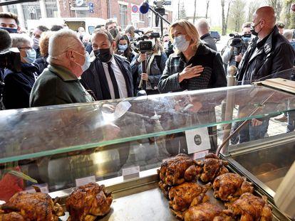 La candidata presidencial de ultraderecha Marine Le Pen en un acto de campaña la semana pasada de cara a los comicios regionales de junio.