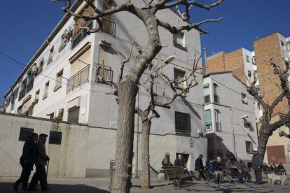 Barrio de La Florida, en l'Hospitalet de Llobregat.