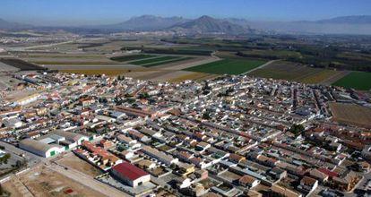 Vista aérea de Valderrubio.