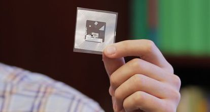 El sensor creado por los investigadores del MIT.