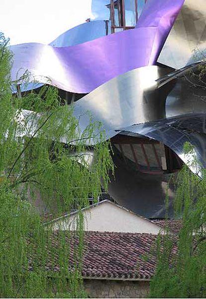 Complejo de la bodega Marqués de Riscal en Elciego (Álava), obra de Frank Gehry.