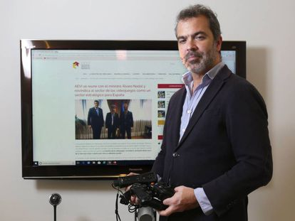 La Asociación Española de Videojuegos (AEVI) logró enormes avances con la Administración gracias a su gestión de lobby. José María Moreno es su director general.