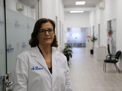 Magda Campins, jefa de Medicina Preventiva del hospital Vall d'Hebron de Barcelona