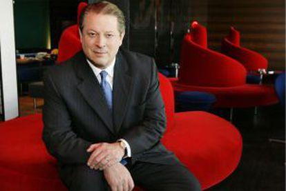 El ex vicepresidente de EE UU, Al Gore.