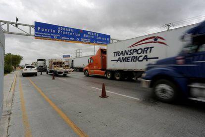 Frontera de Nuevo Laredo