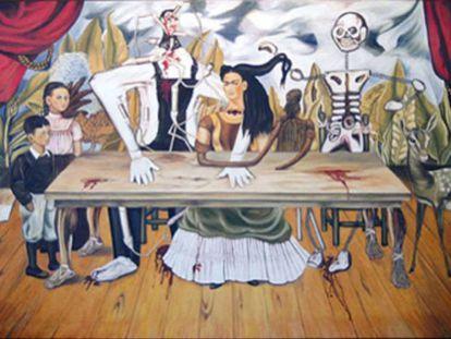 'La mesa herida' de Frida Kahlo.