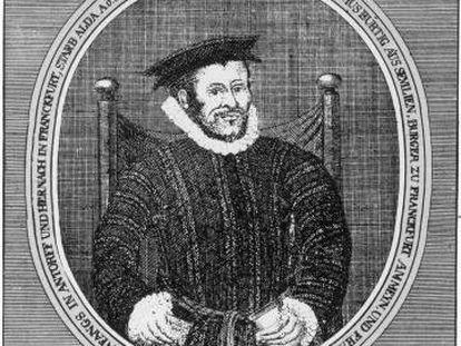 El religioso español y traductor de la 'Biblia del Oso', Casiodoro de Reina.
