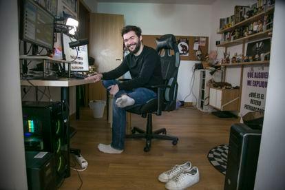 El 'youtuber' Un Tío Blanco Hetero.