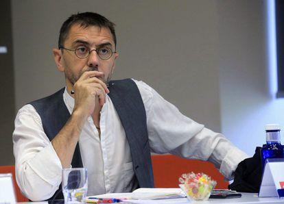 Juan Carlos Monedero, cofundador de Podemos, en una imagen de archivo.