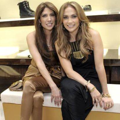 Lynda y Jennifer Lopez en Beverly Hills, en 2010.