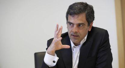 Javier García del Río, de Sareb, en una imagen del año pasado.