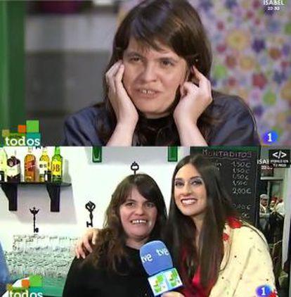 Soraya Santos regenta el bar taberna La Corrala en Madrid, que inauguró tras lograr 13.000 euros en TVE.