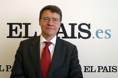 El ministro de Administraciones Públicas, ayer en ELPAIS.es.