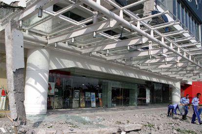 El seísmo ha provocado graves daños en los edificios