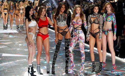 El desfile de Victoria's Secret celebrado en Nueva York el 8 de noviembre de 2018.