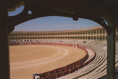 La plaza de toros de Alcalá de Henares lleva cinco años sin acoger un evento taurino.