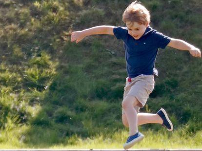 Los ocho años del príncipe Jorge, en imágenes