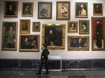DVD1061 (05/07/2021) Reorganización de las salas del Museo de El Prado en Madrid. ANDREA COMAS