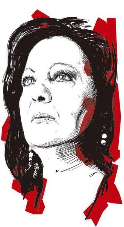 Ilustración de Carmen Linares realizada por Setanta.