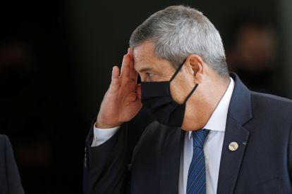 Walter Souza Braga Netto, ministro de Defensa de Brasil, en Brasilia, el pasado 22 de julio.