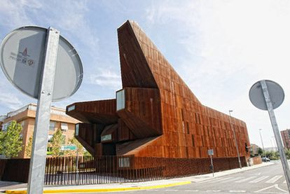La parroquia de Santa Mónica en Rivas fue premiada como el mejor diseño de iglesia de 2008 por la prestigiosa revista <i>Wallpaper.</i>