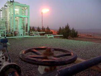 Terminal petrolífera de Taq Taq en Arbil (Irak). EFE/Archivo