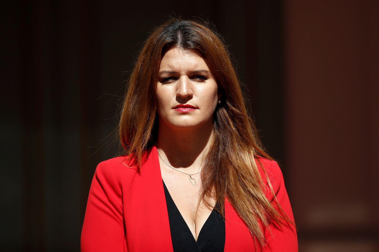 La ministra de Ciudadanía, Marlène Schiappa, principal impulsora de la prohibición de los certificados de virginidad, el pasado julio, en París.
