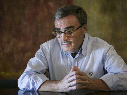 Àngel Ros, presidente del PSC y alcalde de Lleida, ayer en Barcelona.