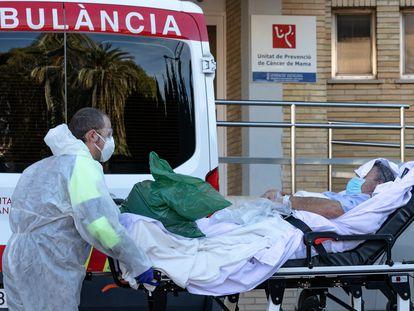 Hospital La Fe de Valencia a principios de febrero.