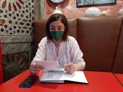 Hannah Serroukh, excoordinadora del distrito de La Salut,