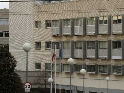 Residencia de mayores en la calle del Doctor González Bueno.