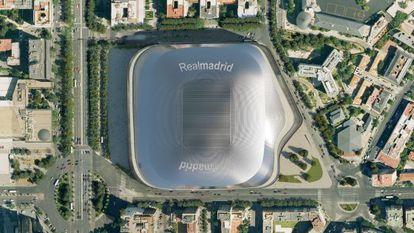 Proyección virtual del nuevo estadio.