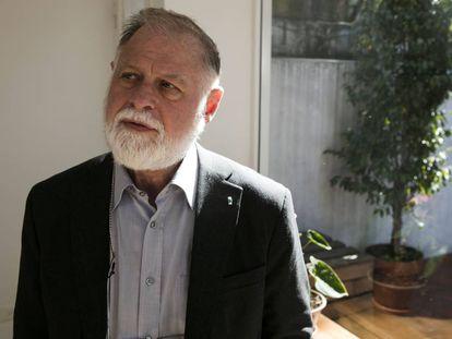 El escritor argentino Alberto Manguel en Buenos Aires.