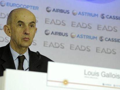El consejero delegado de EADS, Louis Gallois.