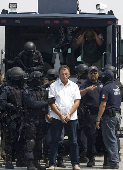 Rafael Cerdeño Hernández, alias El Cede, jefe regional de la Familia, fue detenido el 20 de abril de 2009durante la celebración de un bautizo