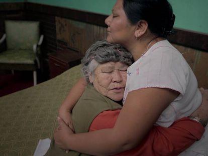 Fotograma del documental 'Plaza de la Soledad'.