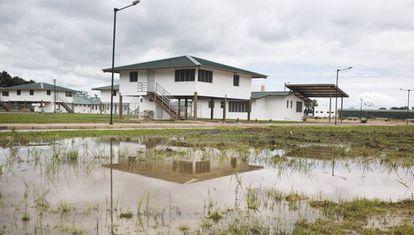 La ciudad del milenio de Pañacocha tuvo una sucesión de problemas para evacuar las aguas servidas.
