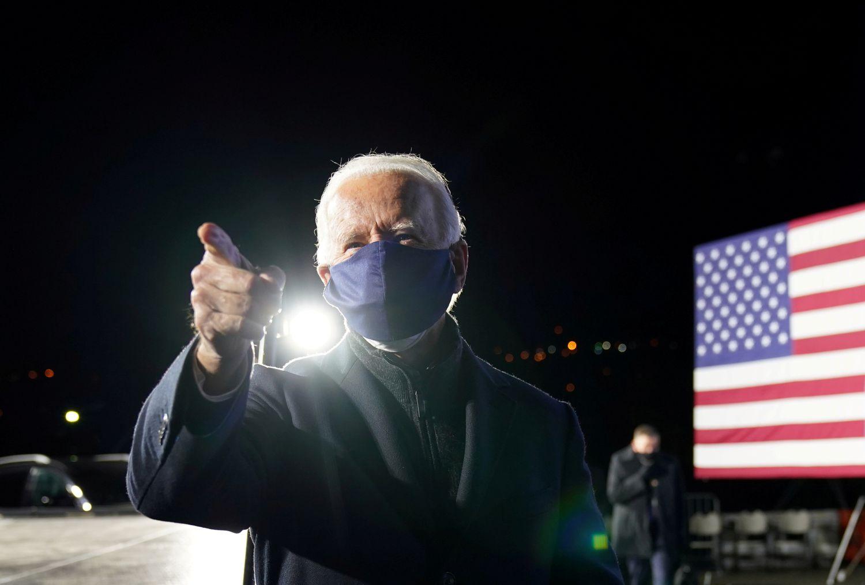 Joe Biden visita el pasado noviembre el Parque Tecnológico Lexington en Pittsburgh (Pensilvania).