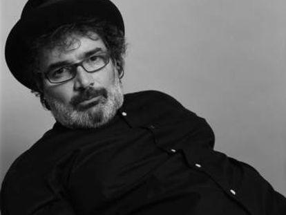 El músico Joan Valent, retratado por Alberto García-Alix.