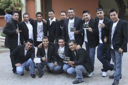 Una imagen de noviembre de 2011 del grupo Kombo Kolombia.
