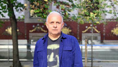 El novelista anglo-pakistaní Hanif Kureishi, esta semana, en Barcelona.