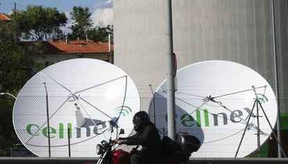 Antenas de Cellnex.