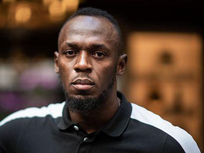 Usain Bolt, en mayo de 2019 en París.