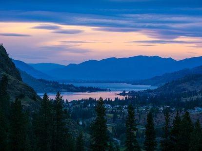 El lago Okanagan, en una imagen de 2013.