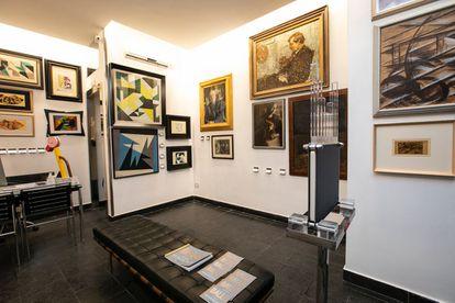 La galería Futurism & Co, en Roma.