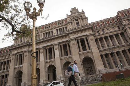 El Palacio de Tribunales de Buenos Aires, sede de la Corte Suprema de Argentina.