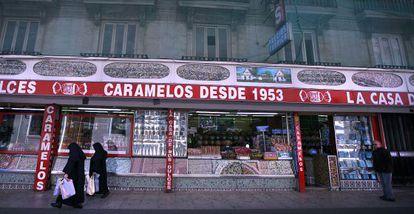 La popular Casa dels Caramels.