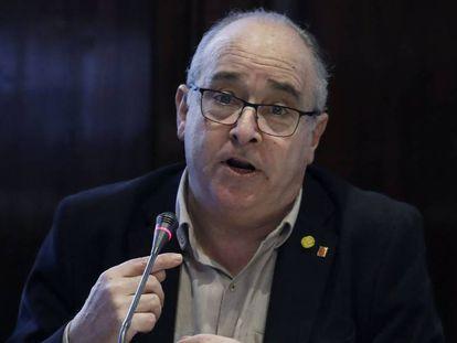 El consejero de Educación, Josep Bargalló.